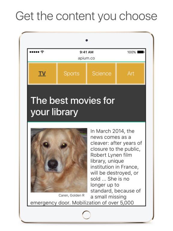 AdsFree Pro Ads Banners Pop-Ups Blocker for Safari Screenshots
