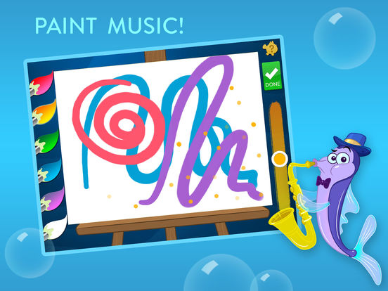 Musical Paint For Kids Screenshots