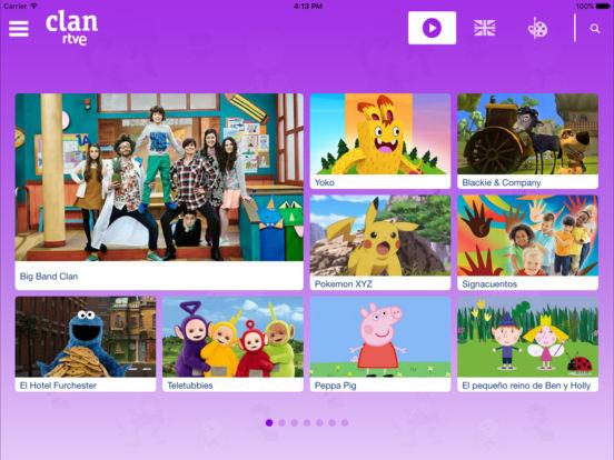 RTVE Clan iPad Screenshot 1