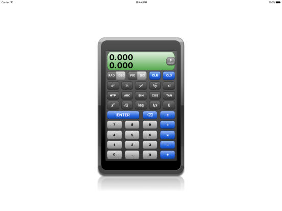 RPN Calc iPad Screenshot 1