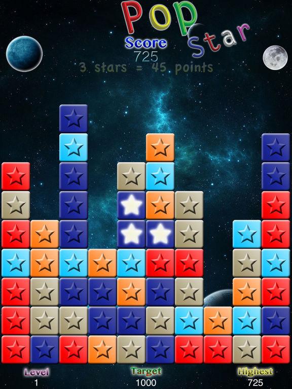 PopStar with Undo Screenshots