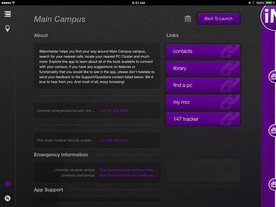 iManchester iPad Screenshot 3