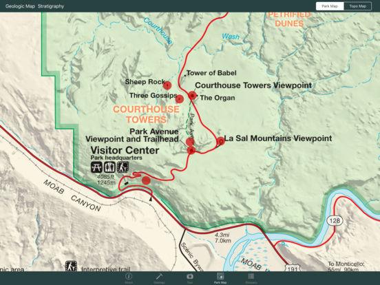 Arches National Park Geology Tour iPad Screenshot 4