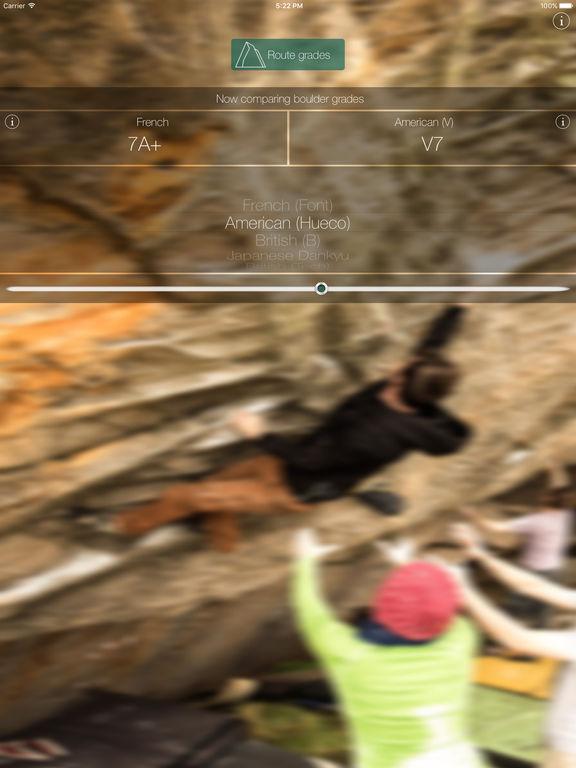 Climbing Grades Converter Screenshots
