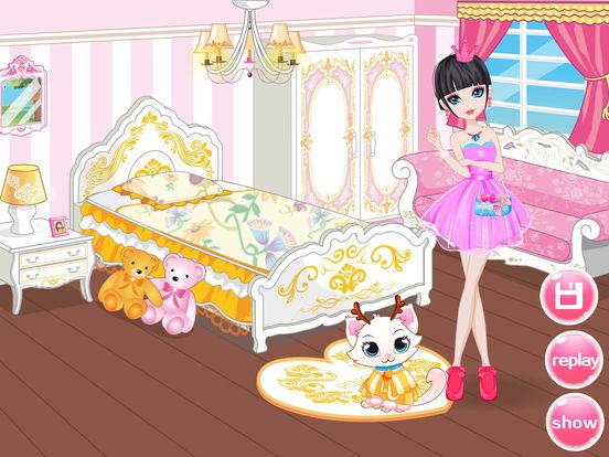 App Shopper Design Sweet Princess Room Girls Makeup Salon Games