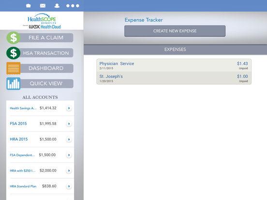 HealthSCOPE Benefits Mobile iPad Screenshot 3