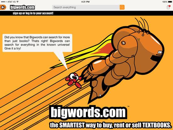 BIGWORDS.com iPad Screenshot 1