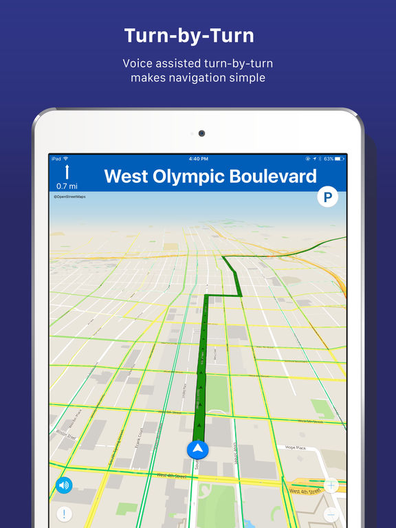 INRIX® XD™ Traffic Maps, Routes & Alerts screenshot