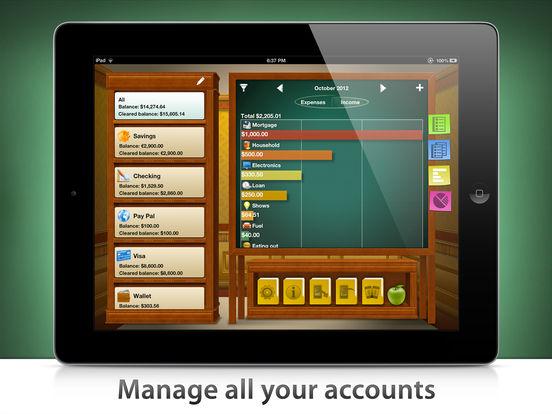 Checkbook HD iPad Screenshot 1