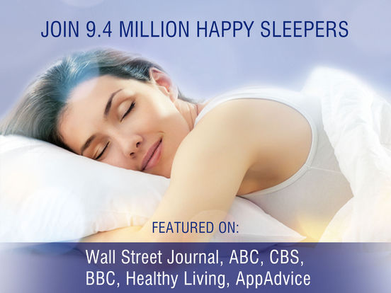 Screenshots of Sleep Pillow Sounds: white noise, rain, ocean, fan for iPad