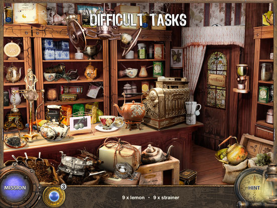 Around The World in 80 Days - Hidden Object Games Screenshots