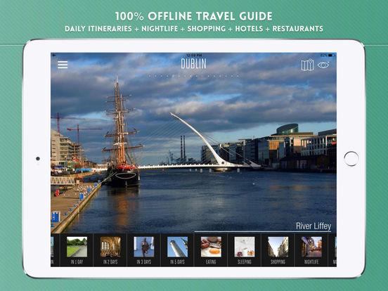 Dublin: Travel Guide iPad Screenshot 1