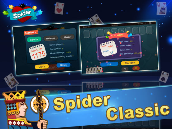 Ace Spider Unlimited Free HD iPad Screenshot 5