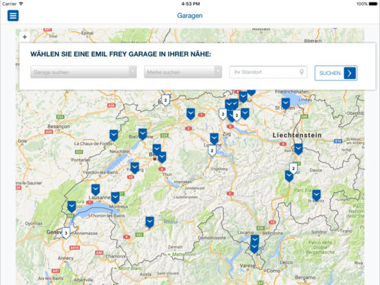 Emil Frey iPad Screenshot 4