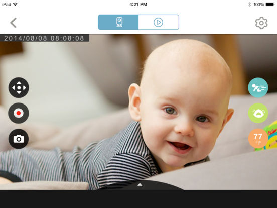 mydlink baby camera monitor on the app store. Black Bedroom Furniture Sets. Home Design Ideas
