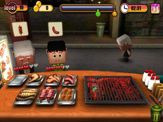Ann's Barbecue Stalls HD iPad Screenshot 1