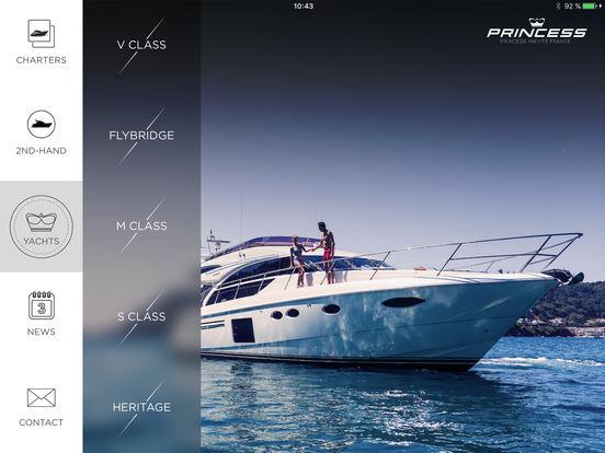 Princess Yachts iPad Screenshot 2