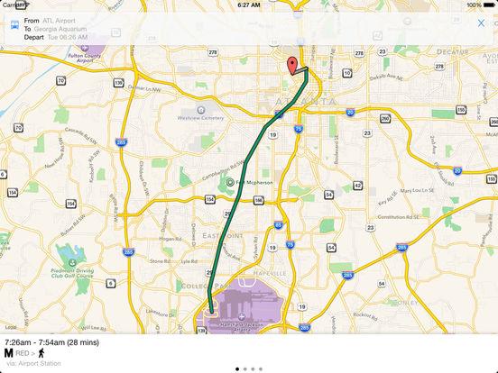 App Shopper Transit Tracker Atlanta MARTA Navigation