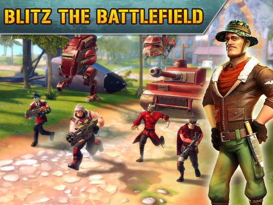 Blitz Brigade - Online multiplayer shooting action! screenshot