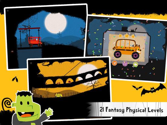 Labo Halloween Car(7+) Screenshot