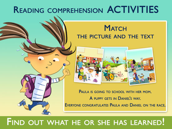 Teach Me to Read with Paula. Book and Activities Screenshots