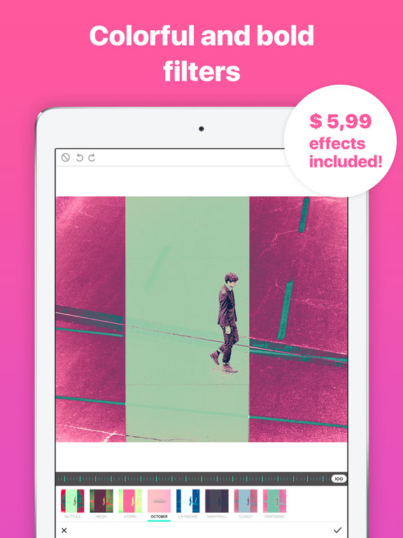 Ultrapop Pro: Amazing Filters & Shapes for Edits Screenshots