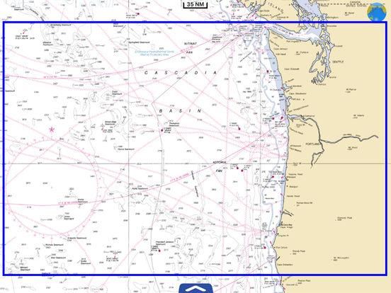 Marine: Oregon - Washington HD iPad Screenshot 5