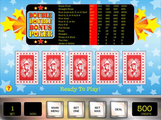 Penny Poker iPad Screenshot 3