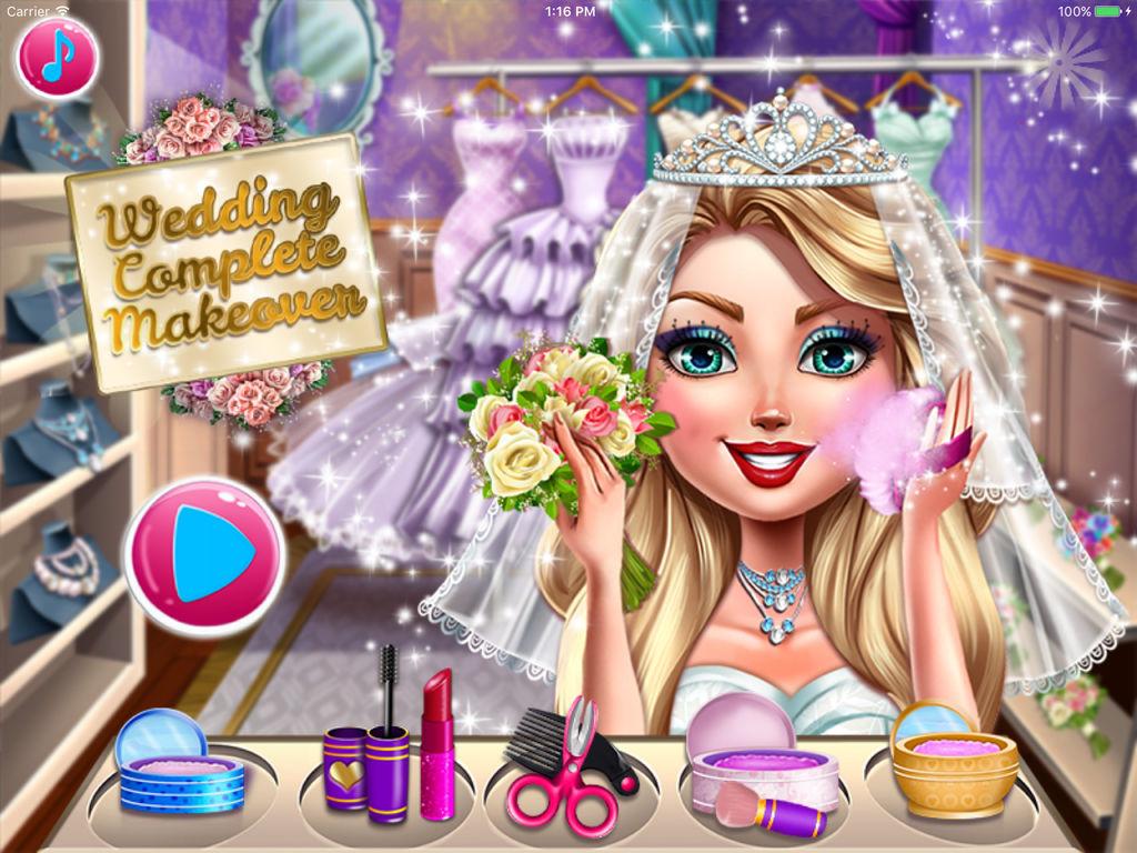 婚前完美化妆 - 很好玩的游戏