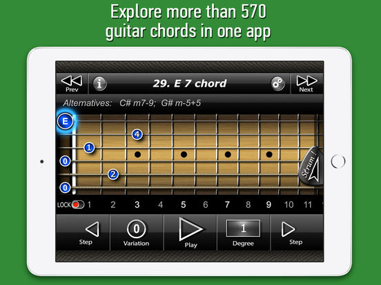 International Guitar Chords iPad Screenshot 1