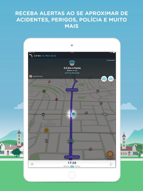 waze gps social mapas e tr nsito na app store. Black Bedroom Furniture Sets. Home Design Ideas