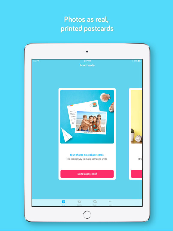 Touchnote: The best postcards & greeting cards app screenshot