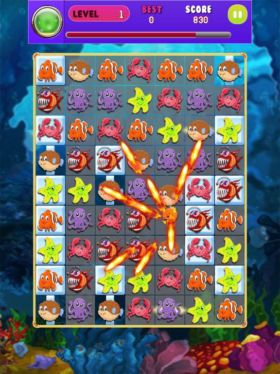 App shopper fish kingdom free fish farm match 3 puzzle for Fish farm games