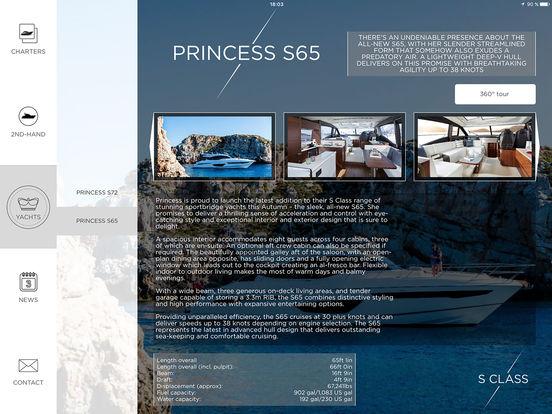Princess Yachts iPad Screenshot 3