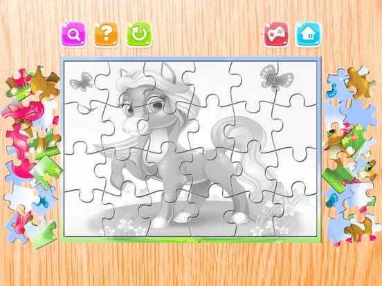 Мультфильм Головоломка Пони Загадки Для Дети Скриншоты6