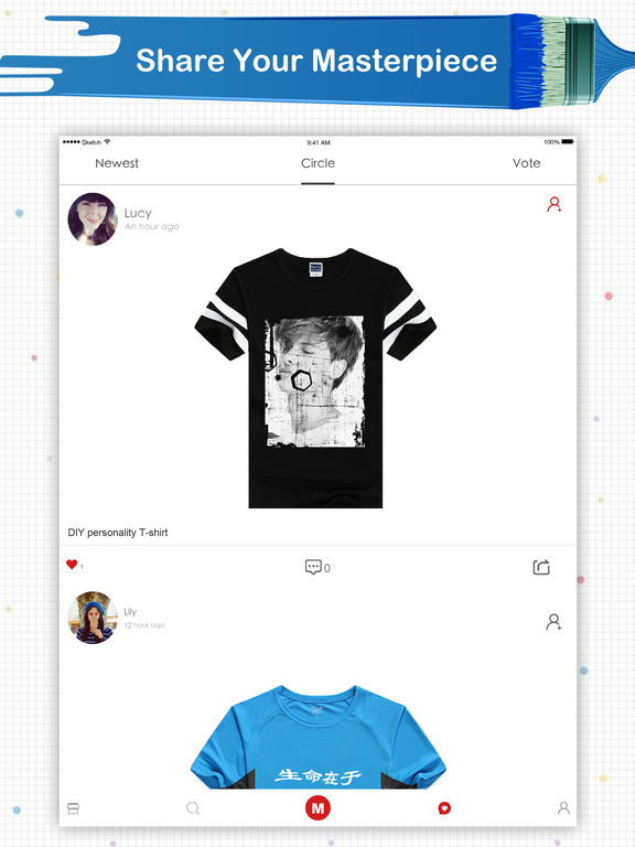 App shopper super t shirt designer professional clothes for T shirt design maker app