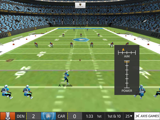Screenshots of Axis Football 2015 for iPad