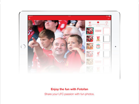 Liverpool FC Match & News Centre iPad Screenshot 4