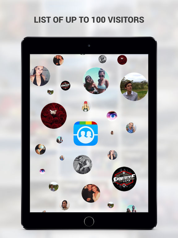 Screenshots of Who Cares About Me Most for Instagram - My Visitors And Followers Analysis Tool for iPad