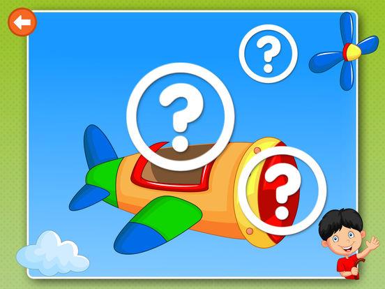 Логика: развивающие игры пазлы для малышей, детей Скриншоты8