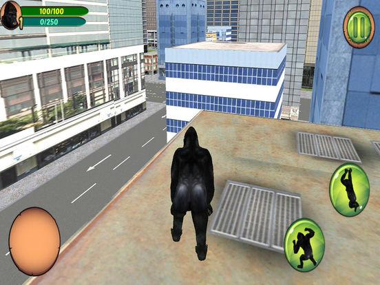 3D Gorilla Simulator on the New York City Screenshots