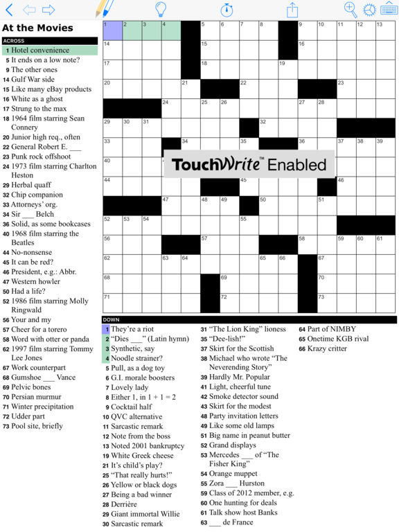 Crossword Puzzles Variety Cryptic Crosswords And Other Puzzle Challenges From Puzzazz Screenshot