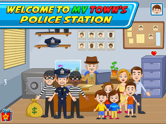 My Town : Police Screenshots