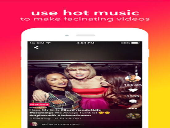 Musical.ly for ipad