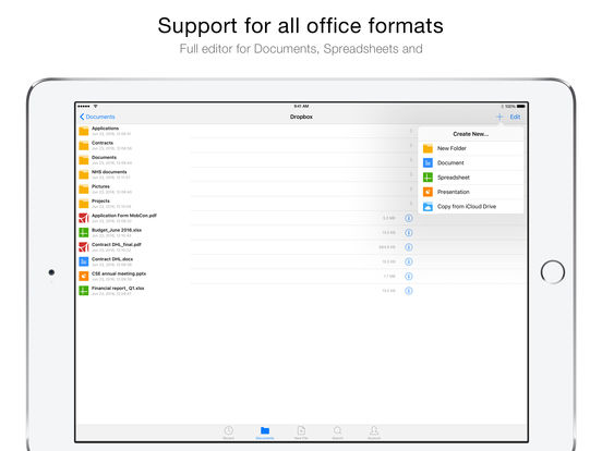 OfficeSuite Pro - PDF + office dоcuments screenshot