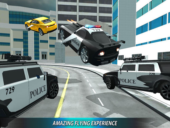 Flying Police Car Driver Motor Bike Rider Chase Review