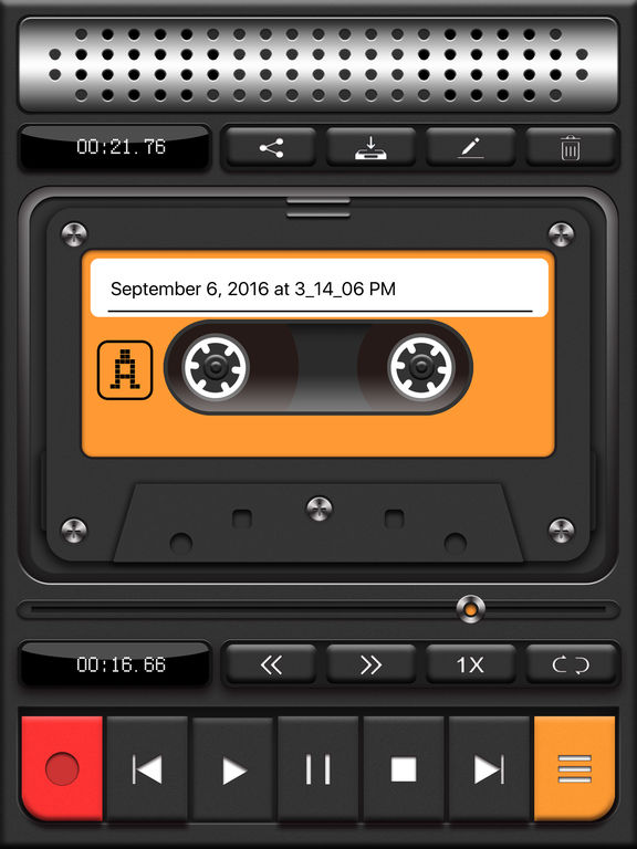 Tape Recorder Pro - Recording App Screenshots