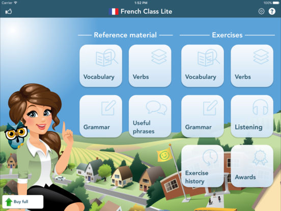 French Class Lite iPad Screenshot 3