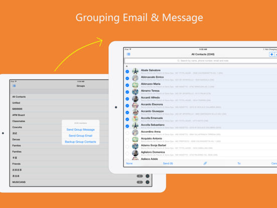 aContacts Pro - All-in-One Contact & Group Manager Screenshots