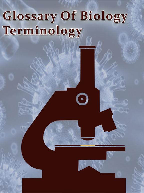 Glossary of Biology Terminology-ipad-0